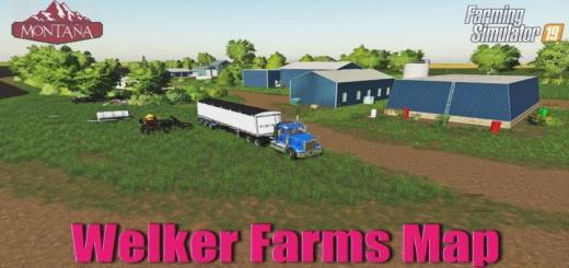 Photo of FS19 – Welker Farms Map V1.0.0.1