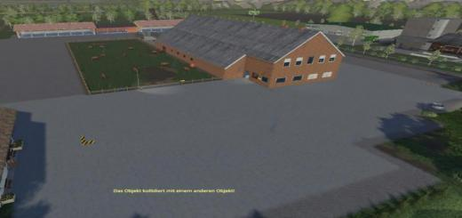 Photo of FS19 – Yard With Cowshed And Willow Beta V3