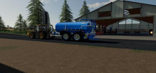 Photo of FS19 – Zunhammer Milk Water Trailer V1