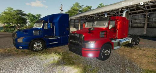 Photo of FS19 – 2018 Mack Anthem 48 Sleeper V1
