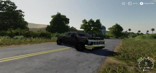 Photo of FS19 – 2020 Chevy 2500Hd Lowered V1