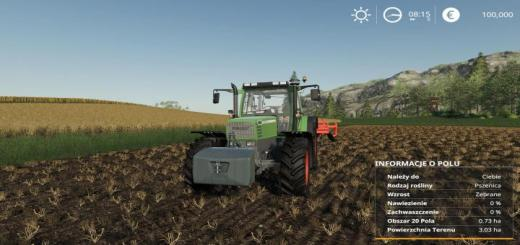 Photo of FS19 – Additional Field Info V1.0.1.1