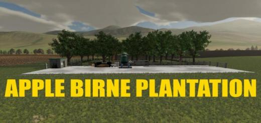 Photo of FS19 – Apple Birne Plantation V1