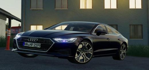 Photo of FS19 – Audi A7 2018 V1