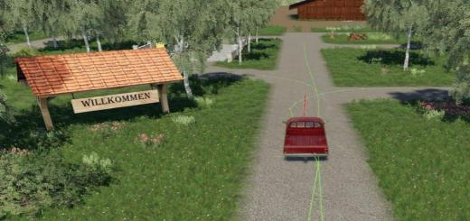 Photo of FS19 – Autodrive Courses For Felsbrunn By Mc