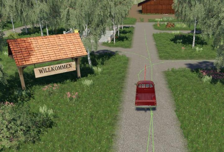 FS19 - Autodrive Courses For Felsbrunn By Mc