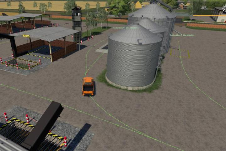 FS19 - Autodrive Courses For Multimap 2019 V2.1