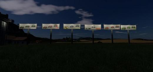 Photo of FS19 – Billboards V1.0.0.1