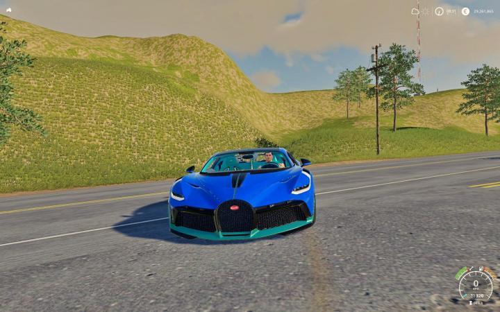 FS19 - Bugatti Divo V1