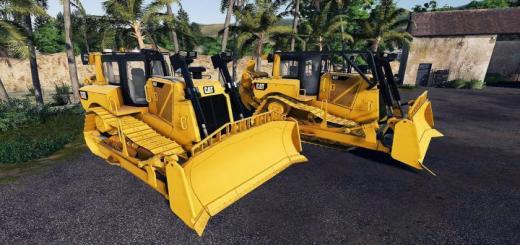 Photo of FS19 – Bulldozer Caterpillar D8T Sdm V1