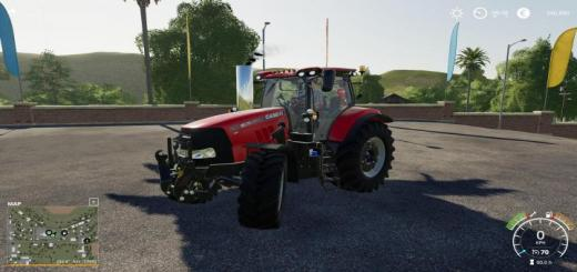 Photo of FS19 – Case Puma Custom Tractor V1