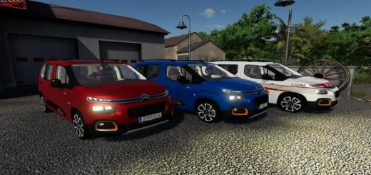 Photo of FS19 – Citroen Berlingo 2019 V1