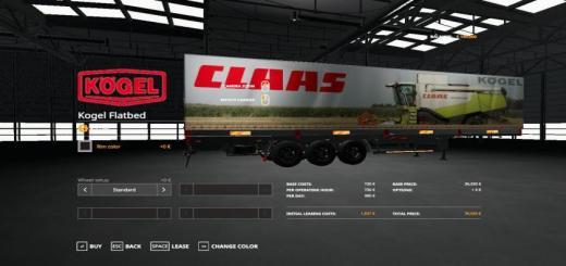 Photo of FS19 – Claas Kogel Autoloader Trailer V1