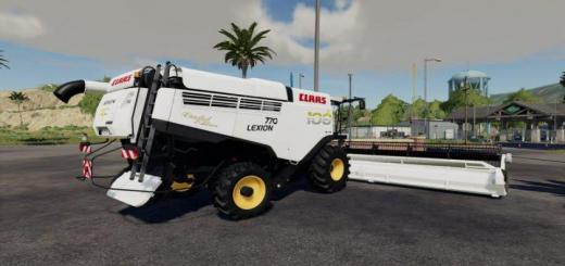 Photo of FS19 – Claas Lexion 700 100Th Aniversary Edition V1