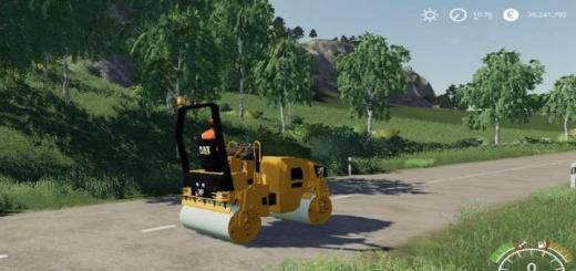Photo of FS19 – Compacteur Caterpillard Cb32 V1.5