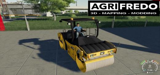 Photo of FS19 – Compactor Caterpillar Cb44B V1