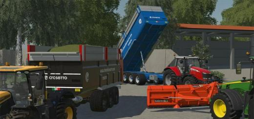 Photo of FS19 – Crosetto Nl28 Trailer V1