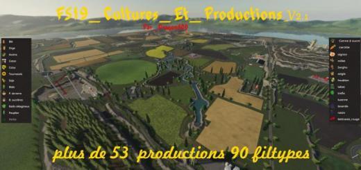 Photo of FS19 – Cultures Et Productions V2.1