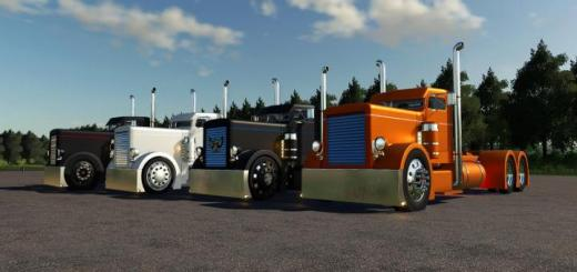 Photo of FS19 – Custom Peterbilt 379 Truck V1