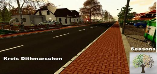 Photo of FS19 – Dithmarschen District Map V1.0.3