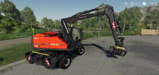 Photo of FS19 – Excavator Atlas Pack V1