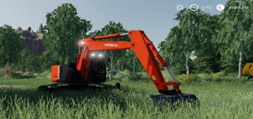 Photo of FS19 – Excavatrice Hitachi V1.5