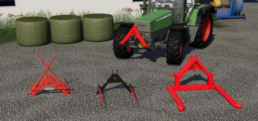 Photo of FS19 – Fast Coupler Forks Pack V1