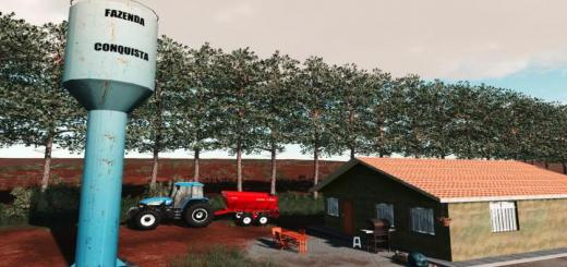 Photo of FS19 – Fazenda Conquista Map V2