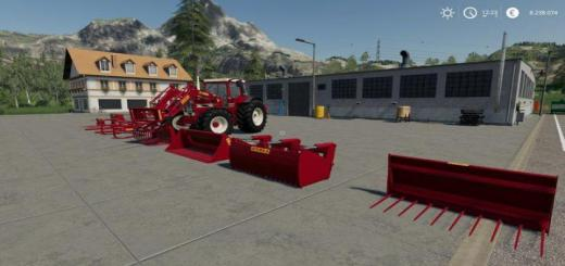 Photo of FS19 – [Fbm Team] Frontloader Tools (Fendt Farmer / Ihc Family) V1