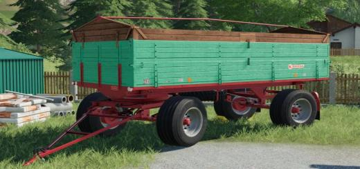 Photo of FS19 – [Fbm Team] Old 7.1T Trailer V1