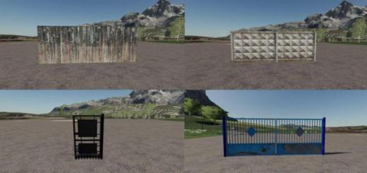 Photo of FS19 – Fences And Gates V1