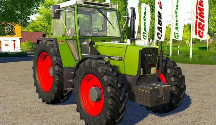 FS19 - Fendt Farmer 307 – 309 Tractor V1