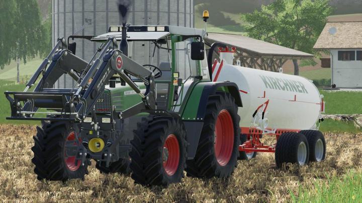 FS19 - Fendt Favorit 509 510 Tractor V4