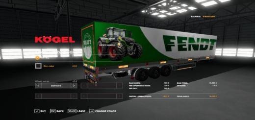 Photo of FS19 – Fendt Kogel Autoloader Trailer V1
