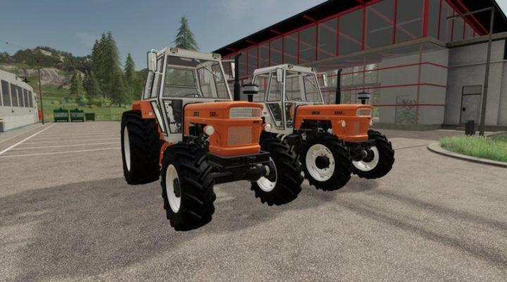 FS19 - Fiat 1300 Dt Tractor