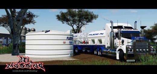 Photo of FS19 – Flexi-N Chemical Trailer V1