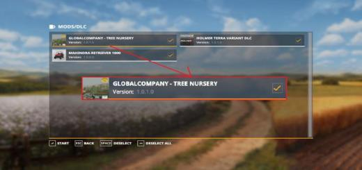 Photo of FS19 – Globalcompany – Tree Nursery V1