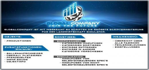 Photo of FS19 – Globalcompany V1.1.1