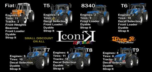 Photo of FS19 – Iconik New Holland Tractors V1