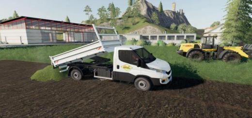 Photo of FS19 – Iveco Daily Benne Fixed V1