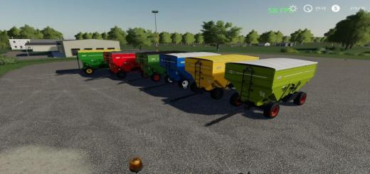 Photo of FS19 – Jm Gravity Wagon V2