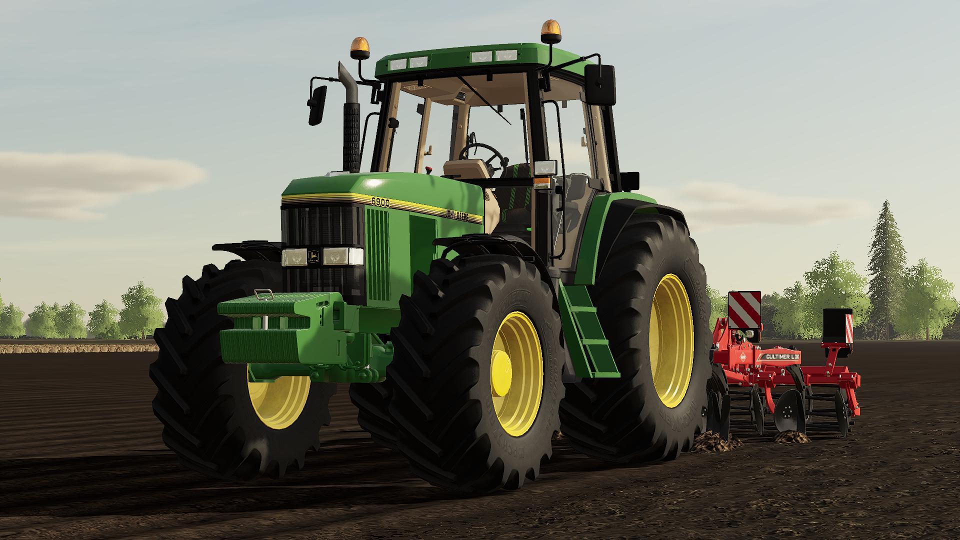 Photo of FS19 – John Deere 6000 Premium Tractor V1