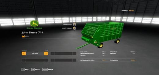 Photo of FS19 – John Deere 714 Forage Box V1