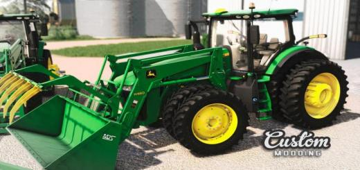 Photo of FS19 – John Deere 7R: Update For H480 V1