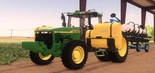Photo of FS19 – John Deere 8000/8010 Series Us V1.1