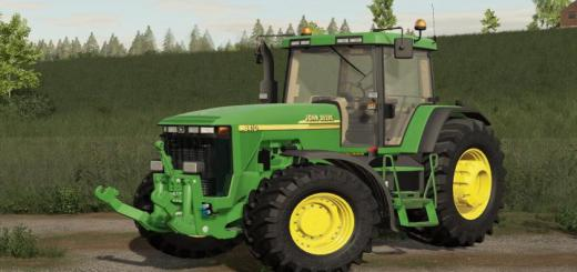 Photo of FS19 – John Deere 8000/8010 Tractor V1.0.0.1
