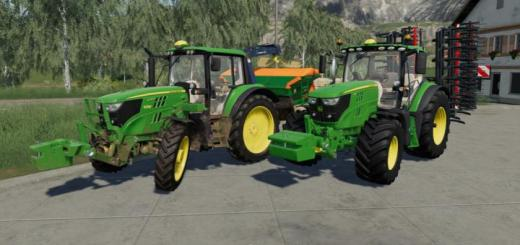 Photo of FS19 – John Deere Slice Weight V1.1
