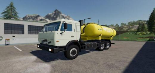 Photo of FS19 – Kamaz 5320 Ko-505A Truck V1