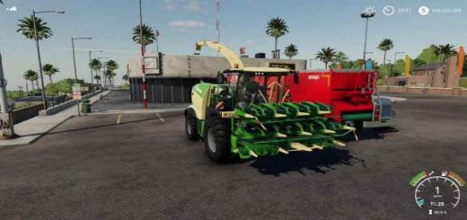 Photo of FS19 – Krone X Collect 50 Meter V1
