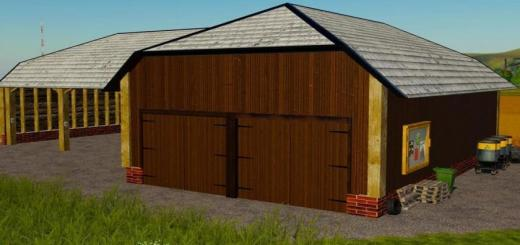 Photo of FS19 – Large Barn For Vehicles V1